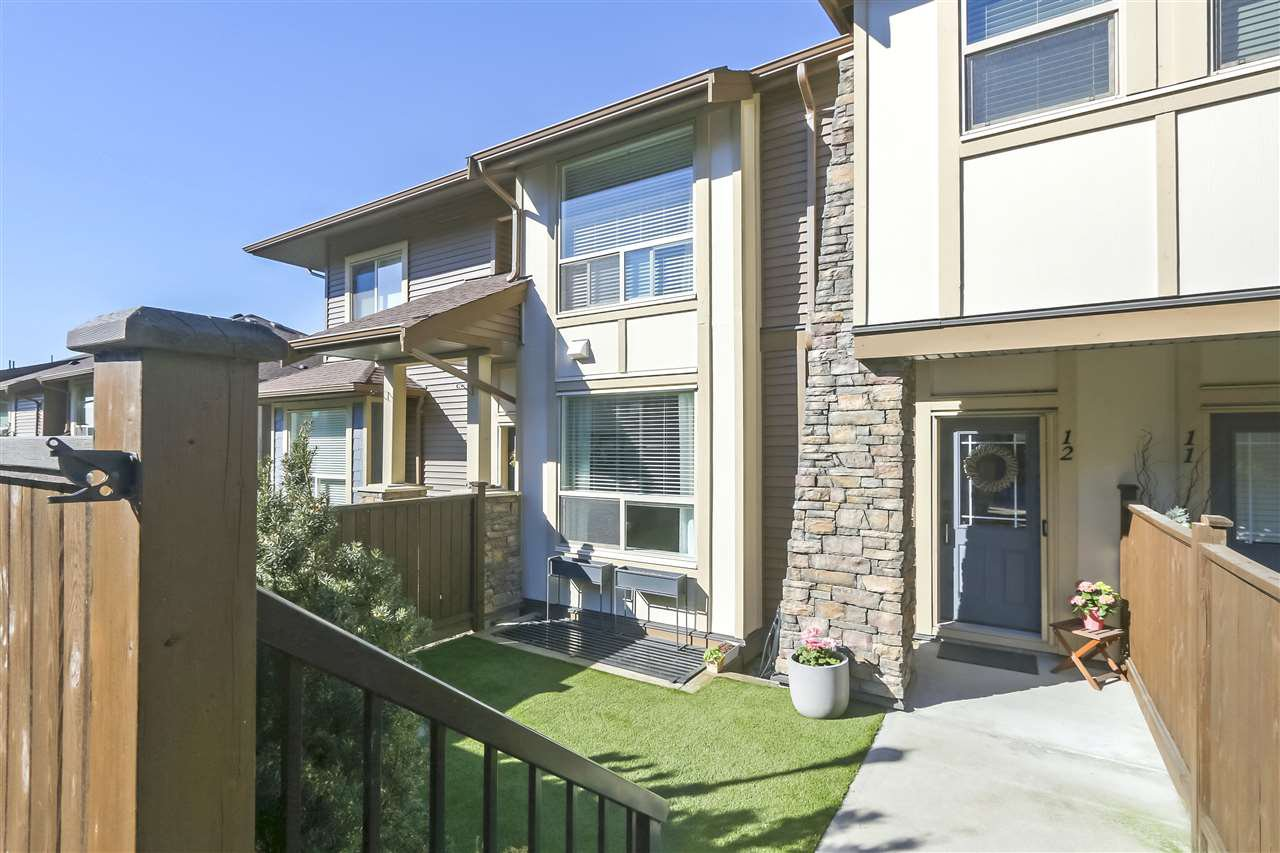 "Main Photo: 12 10550 248 Street in Maple Ridge: Thornhill MR Townhouse for sale in ""The Terraces"" : MLS®# R2350551"