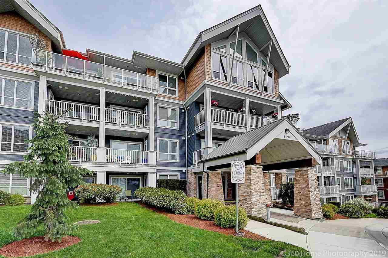 "Main Photo: 410 6460 194 Street in Surrey: Clayton Condo for sale in ""WATERSTONE"" (Cloverdale)  : MLS®# R2379837"