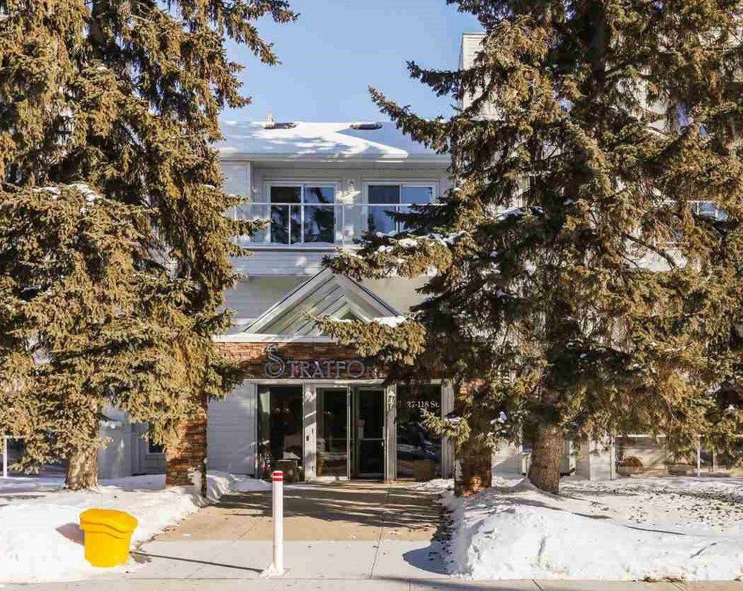 Main Photo: 306 7327 118 Street in Edmonton: Zone 15 Condo for sale : MLS®# E4163998