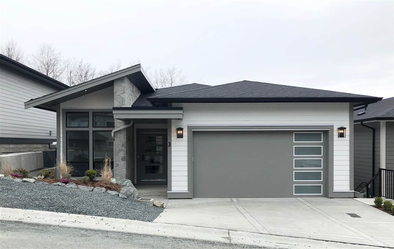 """Main Photo: 3 5248 GOLDSPRING Place in Chilliwack: Promontory House for sale in """"GOLDSPRING HEIGHTS"""" (Sardis)  : MLS®# R2479971"""