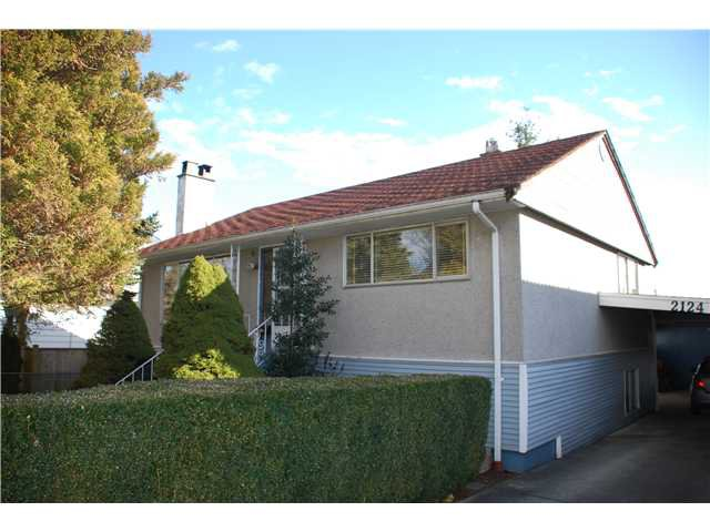 Main Photo: 2124 EDINBURGH Street in New Westminster: Connaught Heights House for sale : MLS®# V1045848