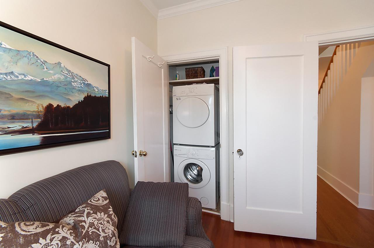 "Photo 12: Photos: 1 1820 BAYSWATER Street in Vancouver: Kitsilano Townhouse for sale in ""TATLOW COURT"" (Vancouver West)  : MLS®# R2111022"