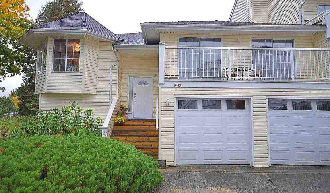 Main Photo: 603 1180 FALCON Drive in Coquitlam: Eagle Ridge CQ Townhouse for sale : MLS®# R2216239
