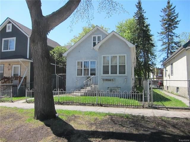 Main Photo: 254 Pritchard Avenue in Winnipeg: Residential for sale (4A)  : MLS®# 1813471