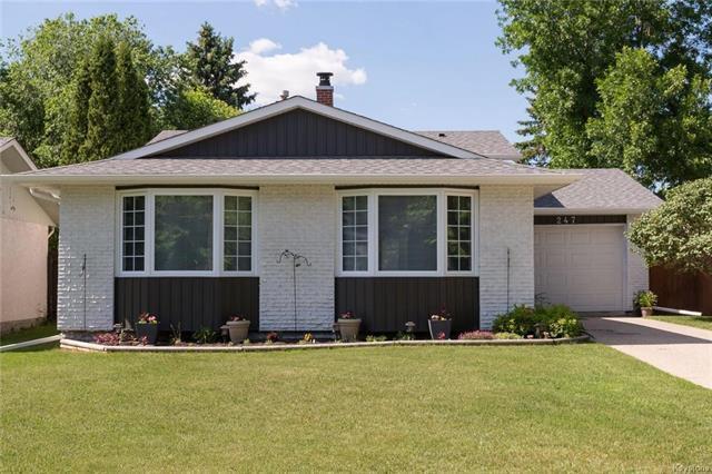 Main Photo: 247 Riel Avenue in Winnipeg: Residential for sale (2C)  : MLS®# 1816761