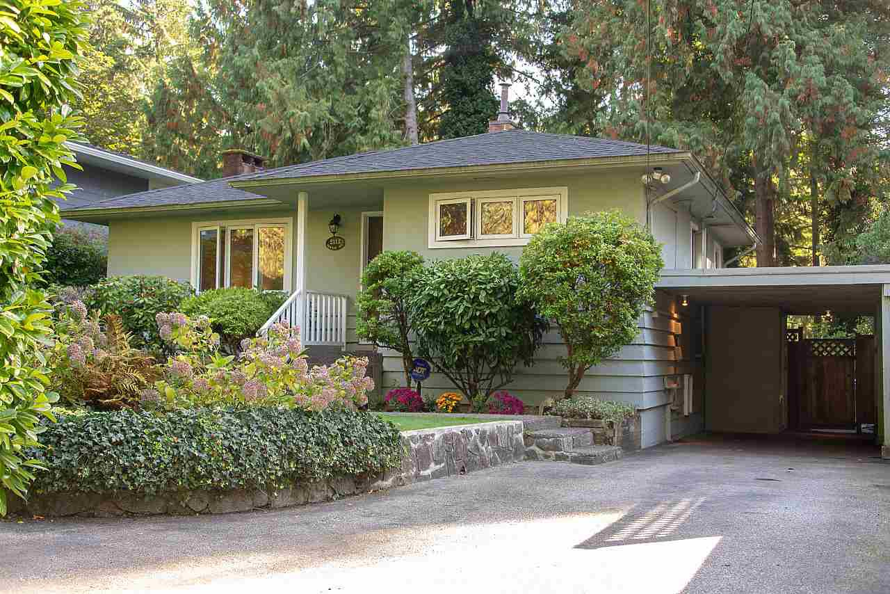 "Main Photo: 2112 MACKAY Avenue in North Vancouver: Pemberton Heights House for sale in ""Pemberton Heights"" : MLS®# R2310163"