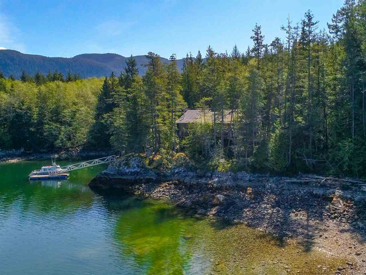 "Main Photo: Lot 39 HARDY ISLAND in Pender Harbour: Pender Harbour Egmont House for sale in ""LOT 39"" (Sunshine Coast)  : MLS®# R2365453"