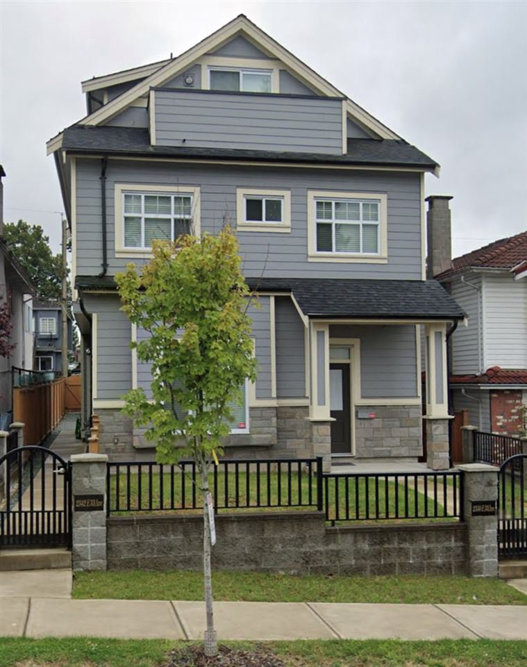 Main Photo: 2340 E 33RD Avenue in Vancouver: Collingwood VE House 1/2 Duplex for sale (Vancouver East)  : MLS®# R2494427