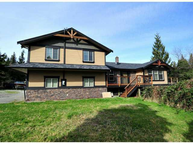 Photo 1: Photos: 30919 DEWDNEY TRUNK RD in Mission: Stave Falls House for sale : MLS®# F1303274