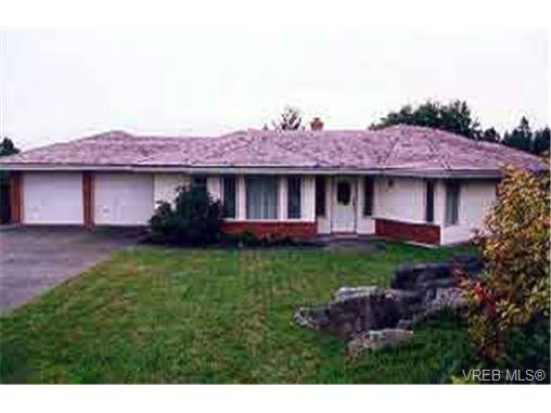 Main Photo: 8575 Sentinel Pl in SIDNEY: NS Dean Park House for sale (North Saanich)  : MLS®# 199830