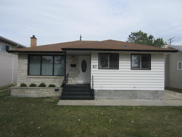 Main Photo: 67 Buttercup Avenue in WINNIPEG: West Kildonan / Garden City Residential for sale (North West Winnipeg)  : MLS®# 1218991
