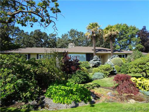 Main Photo: 3220 BEACH Drive in VICTORIA: OB Uplands Residential for sale (Oak Bay)  : MLS®# 313381