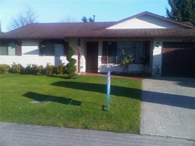 Main Photo: 4712 46A Street in Ladner: Ladner Elementary House for sale : MLS®# V982298