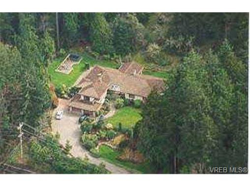 Main Photo: 6905 Wallace Drive in BRENTWOOD BAY: CS Brentwood Bay Single Family Detached for sale (Central Saanich)  : MLS®# 188709