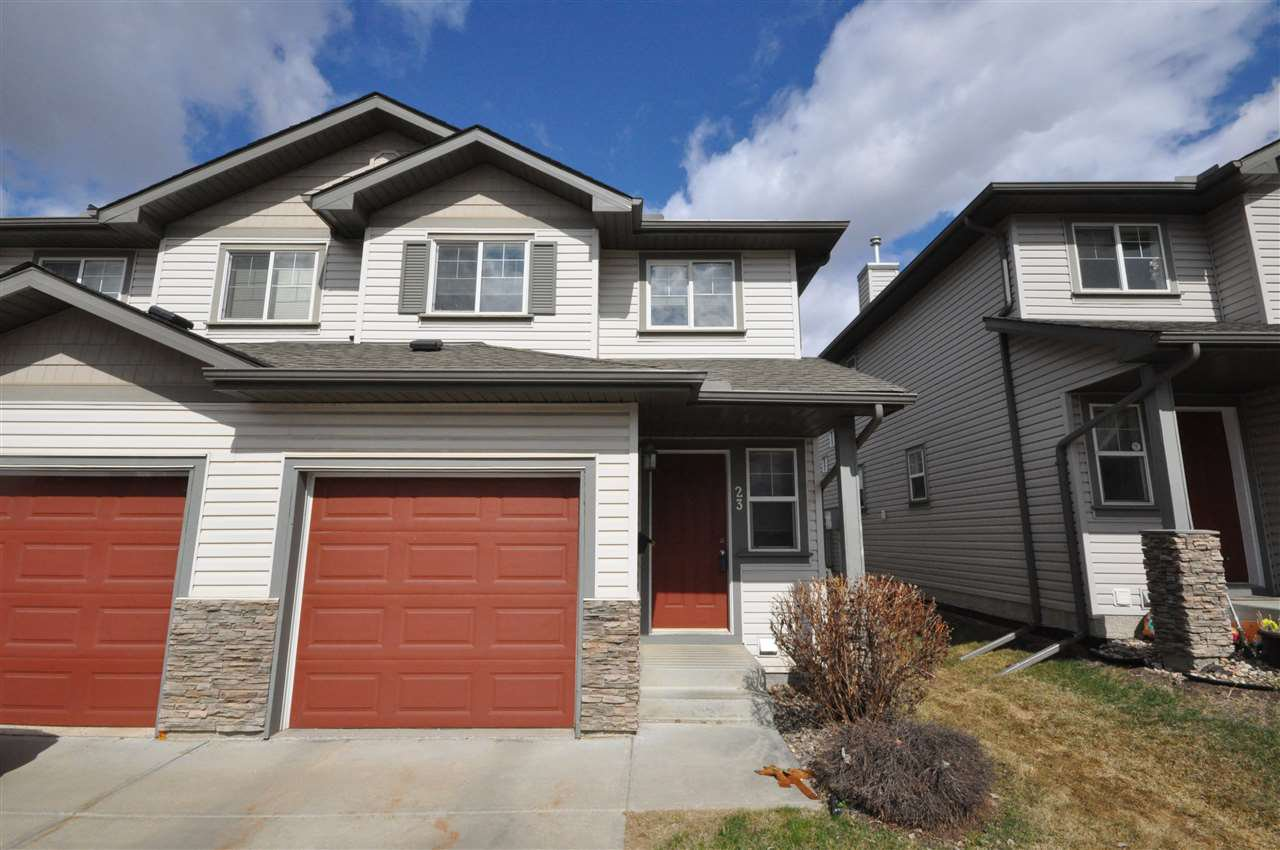 Main Photo: #23 2816 34 AV NW in Edmonton: Zone 30 Townhouse for sale