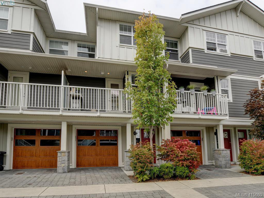 Main Photo: 6 3356 Whittier Ave in VICTORIA: SW Rudd Park Row/Townhouse for sale (Saanich West)  : MLS®# 824505
