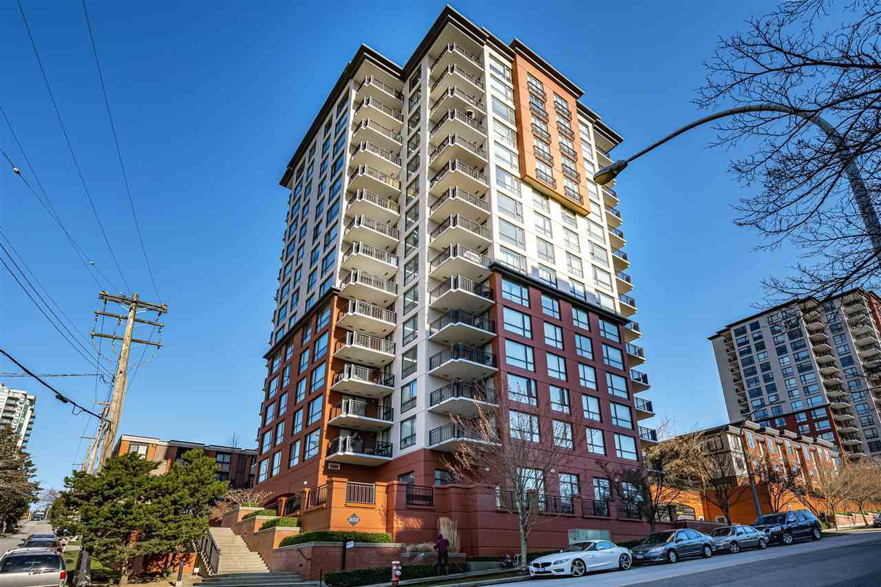 "Main Photo: 1102 833 AGNES Street in New Westminster: Downtown NW Condo for sale in ""NEWS"" : MLS®# R2447780"