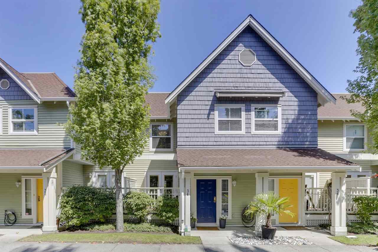"Main Photo: 34 1700 56 Street in Delta: Beach Grove Townhouse for sale in ""PILLARS AT BEACH GROVE"" (Tsawwassen)  : MLS®# R2477910"