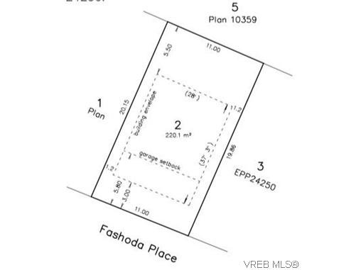 Main Photo: Lot 2 Fashoda Pl in VICTORIA: La Happy Valley Land for sale (Langford)  : MLS®# 626213