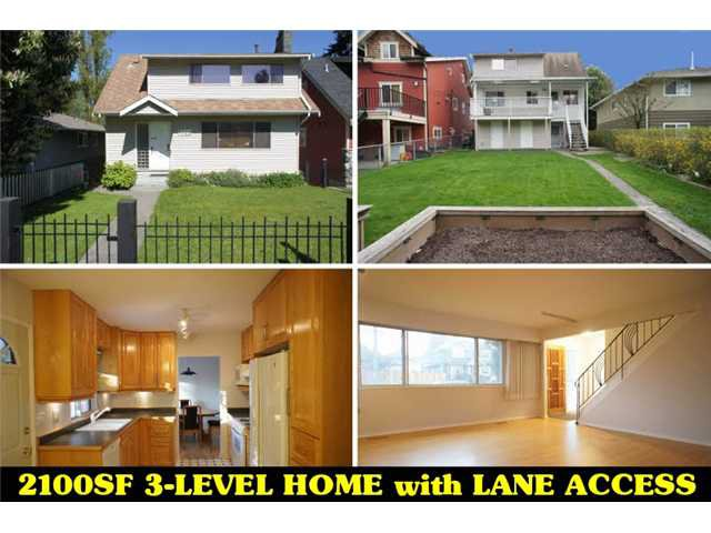 Main Photo: 8329 16TH Avenue in Burnaby: East Burnaby House for sale (Burnaby East)  : MLS®# V1004620