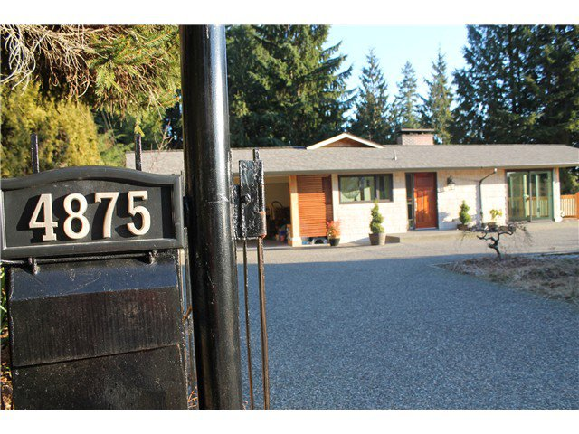 Main Photo: 4875 Skyline Drive in North Vancouver: Canyon Heights NV Home for sale : MLS®# V1098965