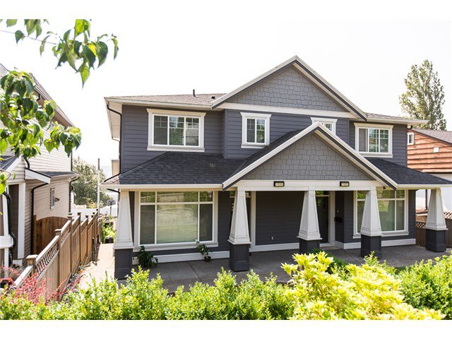 Main Photo: 1500 SIXTH AV in New Westminster: Uptown NW House 1/2 Duplex for sale : MLS®# V1132853