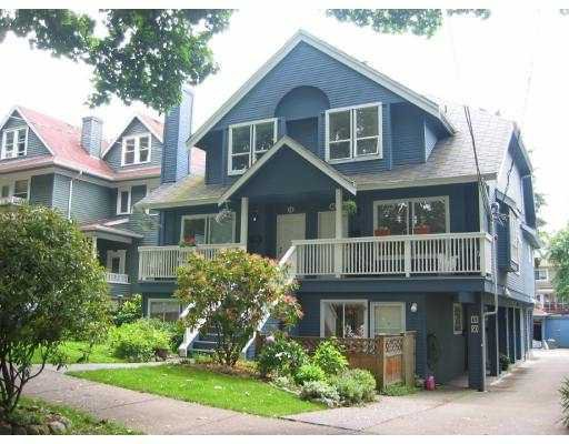 Main Photo: 46 W 13TH AV in Vancouver: Mount Pleasant VW Townhouse for sale (Vancouver West)  : MLS®# V543369