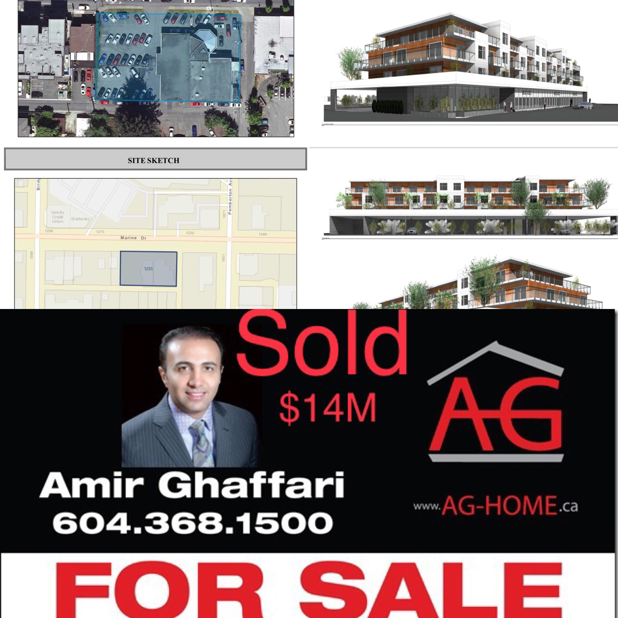 Main Photo: 1235 Marine Dr in North Vancouver: Norgate Land Commercial for sale