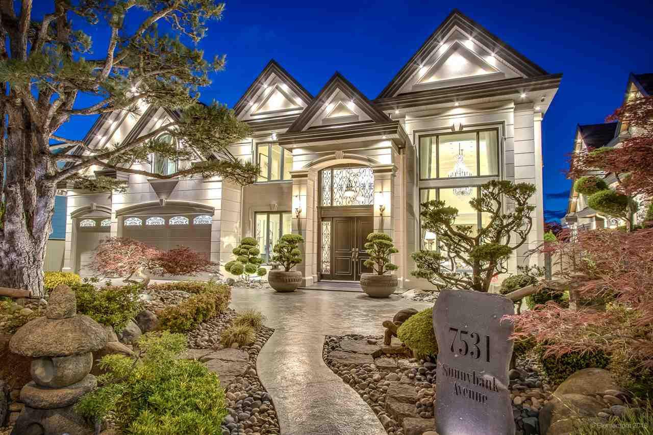 Main Photo: 7531 SUNNYBANK Avenue in Richmond: Broadmoor House for sale : MLS®# R2415400