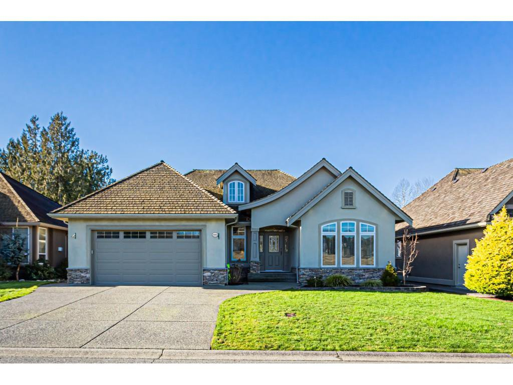 "Main Photo: 3913 COACHSTONE Way in Abbotsford: Abbotsford East House for sale in ""Creekstone on the Park"" : MLS®# R2433890"