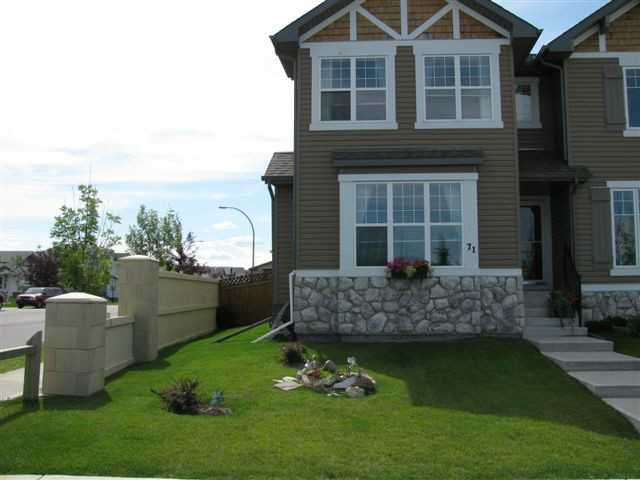 Main Photo: 71 EVERSYDE Heath SW in CALGARY: Evergreen Residential Attached for sale (Calgary)  : MLS®# C3507346