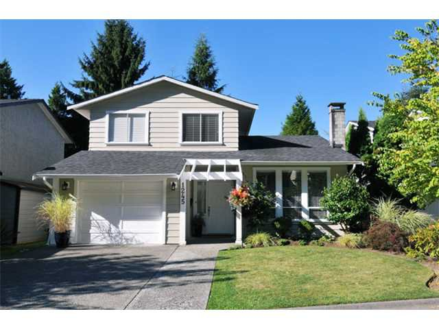 Main Photo: 1245 BLUFF Drive in Coquitlam: River Springs House for sale : MLS®# V975554