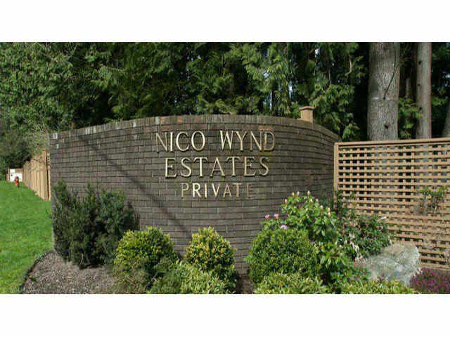 """Main Photo: 8 14085 NICO WYND Place in Surrey: Elgin Chantrell Condo for sale in """"NICO WYND ESTATES"""" (South Surrey White Rock)  : MLS®# F1310137"""