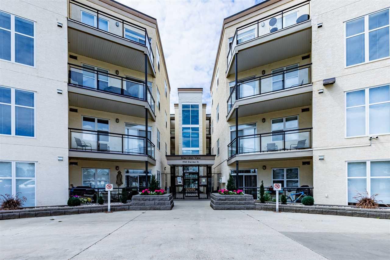 Main Photo: 101 9940 SHERRIDON Drive: Fort Saskatchewan Condo for sale : MLS®# E4165994