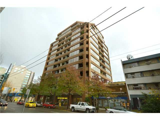 Main Photo: 1010 1010 HOWE Street in Vancouver: Downtown VW Condo for sale (Vancouver West)  : MLS®# V919564