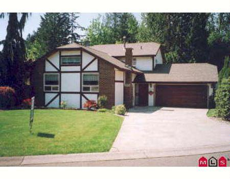 Main Photo: 20146 37TH AV in Langley: House for sale (Canada)  : MLS®# F2712589