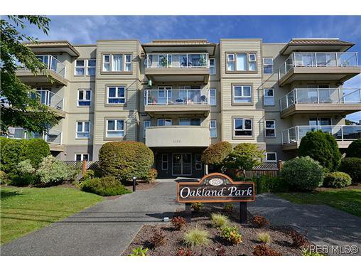 Main Photo: 204 1536 Hillside Ave in VICTORIA: Vi Oaklands Condo for sale (Victoria)  : MLS®# 613265