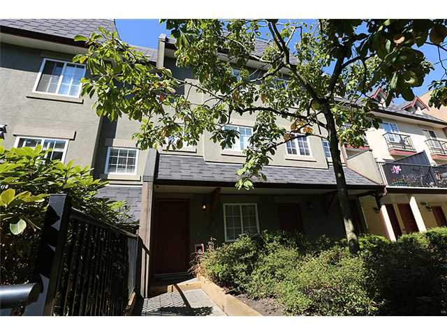 "Main Photo: 25 1561 BOOTH Avenue in Coquitlam: Maillardville Townhouse for sale in ""The Courcelles"" : MLS®# V1026526"