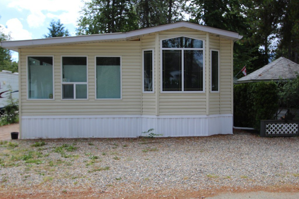 Main Photo: 17 3980 Squilax Anglemont Road in Scotch Creek: Recreational for sale : MLS®# 10102171