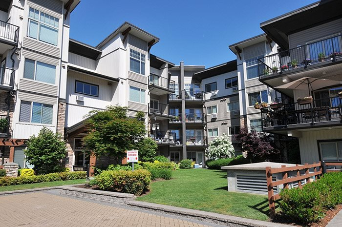 Main Photo: 401 11935 Burnette Street in maple ridge: East Central Condo for sale (Maple Ridge)  : MLS®# R2071855