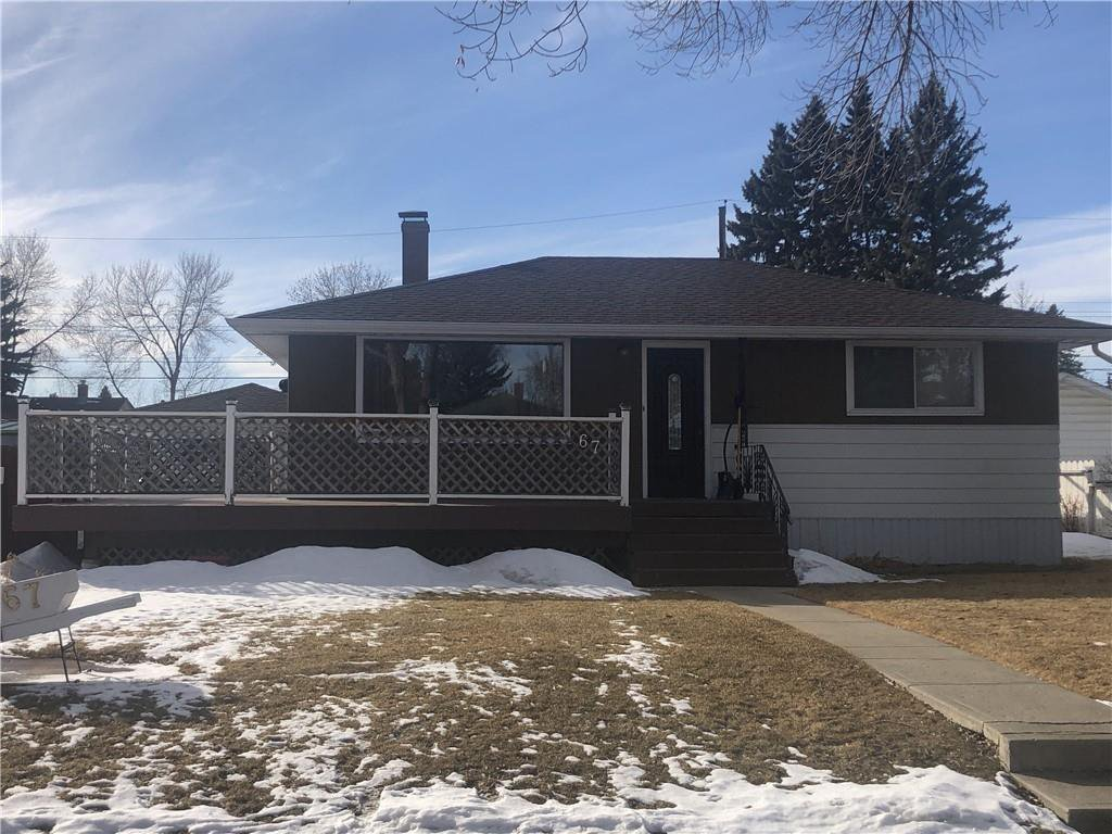 Main Photo: 67 LYNNDALE Road SE in Calgary: Ogden Detached for sale : MLS®# C4290452