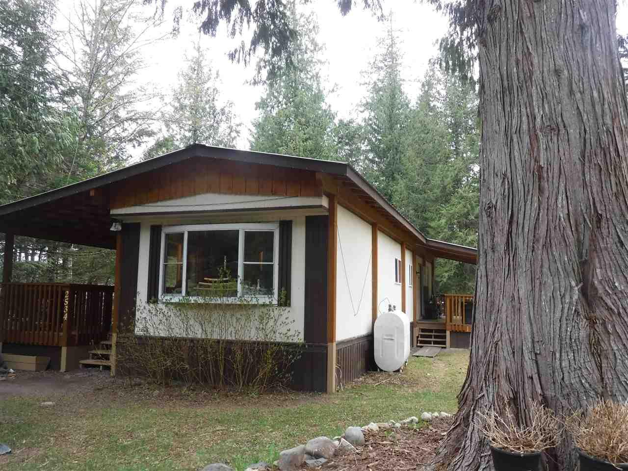 Main Photo: 2534 N N DOUGLAS Drive in Bella Coola: Bella Coola/Hagensborg Manufactured Home for sale (Williams Lake (Zone 27))  : MLS®# R2452013