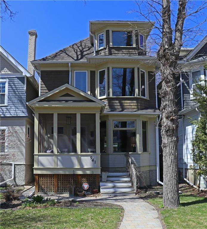 Main Photo: 941 McMillan Avenue in Winnipeg: Residential for sale (1Bw)  : MLS®# 202010311