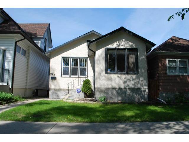 Main Photo: 928 Ashburn Street in WINNIPEG: West End / Wolseley Residential for sale (West Winnipeg)  : MLS®# 1211331