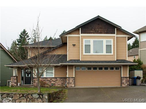 Main Photo: 2287 Setchfield Avenue in VICTORIA: La Bear Mountain Single Family Detached for sale (Langford)  : MLS®# 317318
