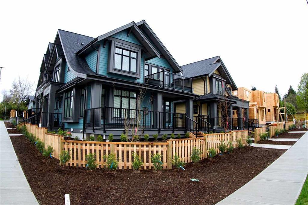Main Photo: 2 703 Gauthier Avenue in Coquitlam: Coquitlam West House 1/2 Duplex for sale : MLS®# R2157920