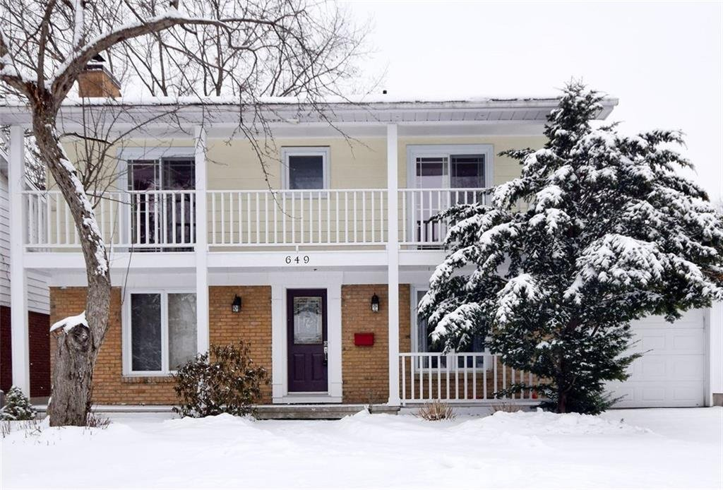 Main Photo: 649 Glenhurst Cr. in Ottawa: House for sale (Beacon Hill North)
