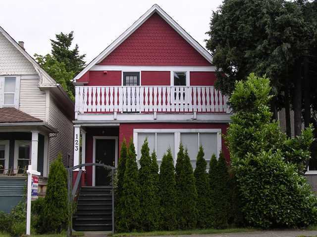 Main Photo: 123 W 12TH AV in : Mount Pleasant VW House for sale : MLS®# V845010