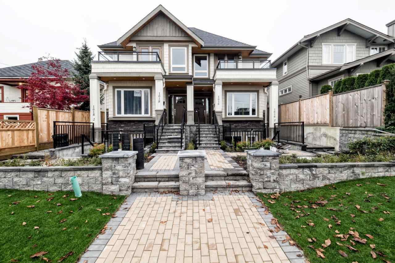 Main Photo: 1616 MAHON AVENUE in North Vancouver: Central Lonsdale 1/2 Duplex for sale : MLS®# R2012803