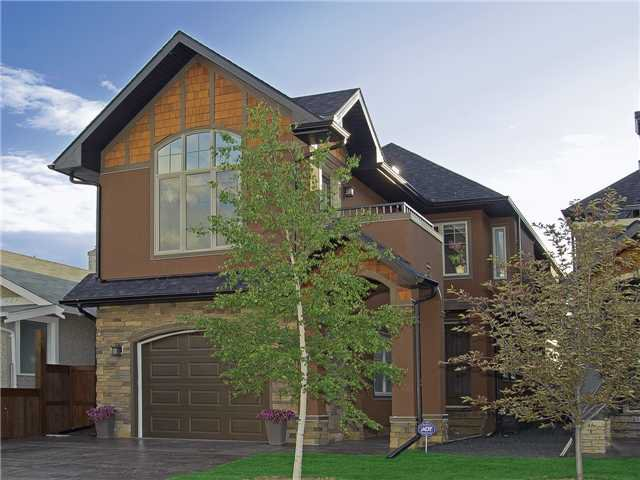 This beautiful home of outstanding merit is located next to a park in Bridgeland.